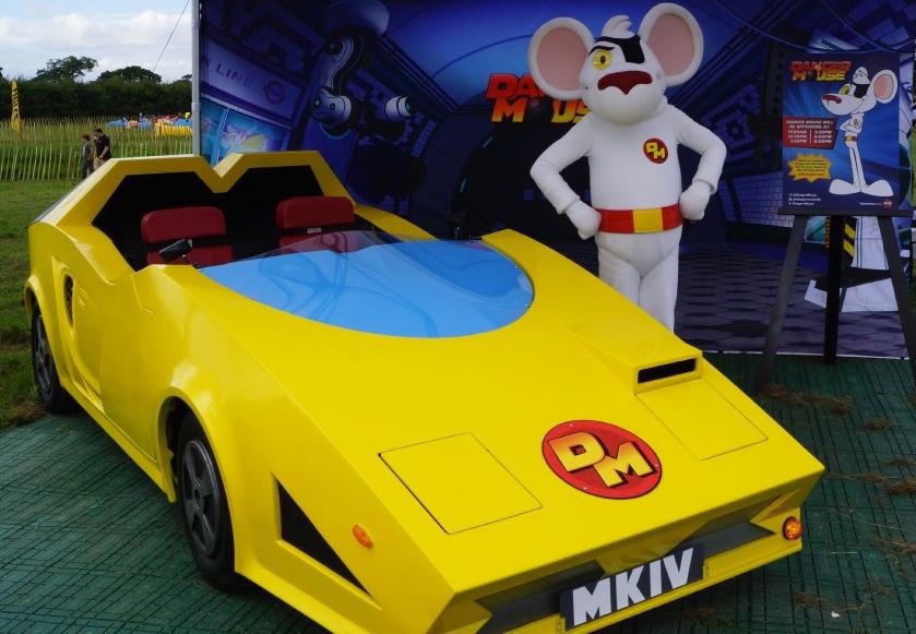 Danger Mouse car visits Car Fest