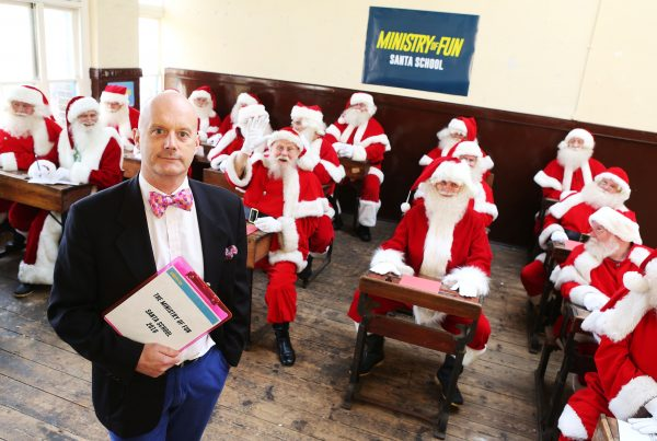 The Ministry of Fun Santa School 2016