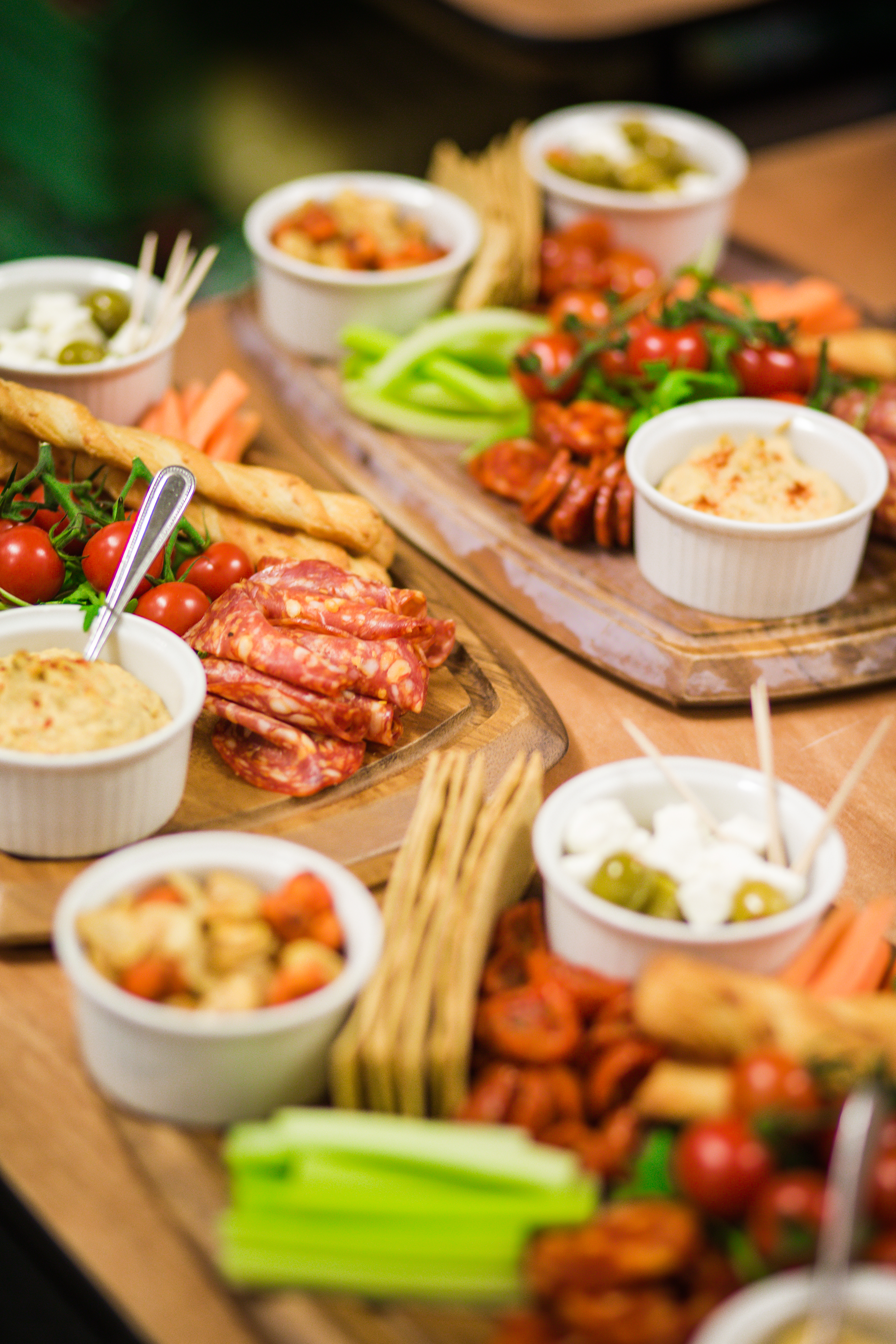 The platter available at Sainsbury's Festive Fizz Bar Pop-Up