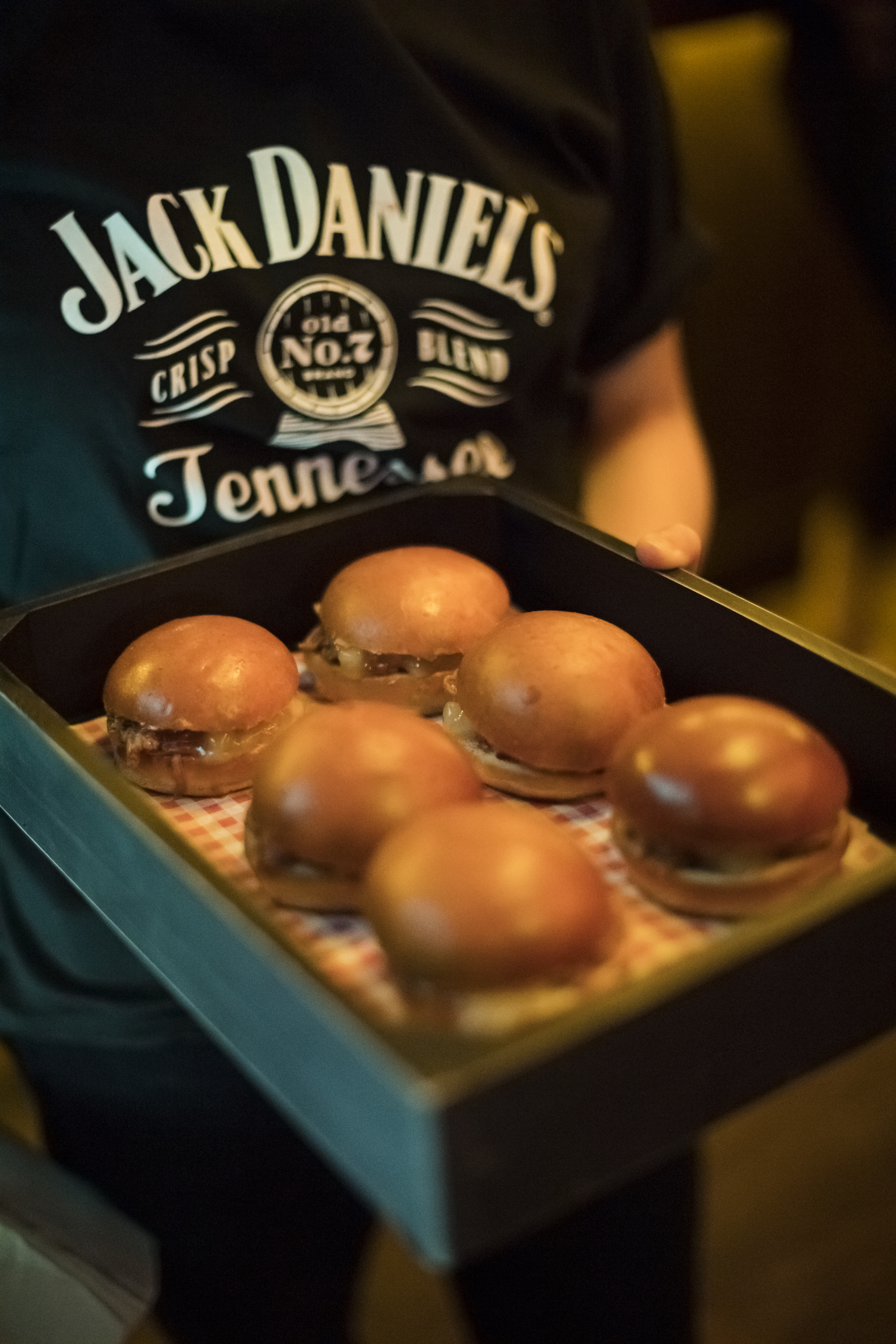 jack daniel's tennessee cider launch party room theming bespoke games black apples product launch