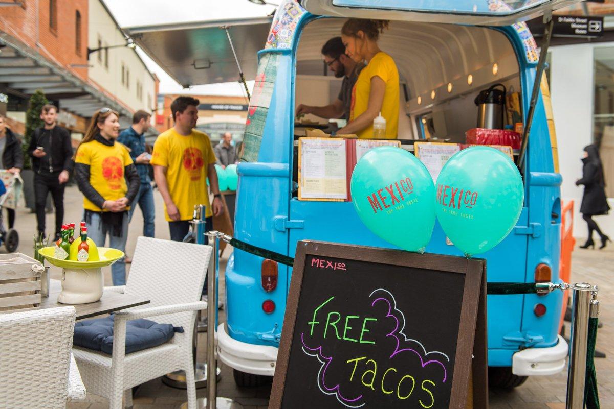 MEXIco True Taste Sampling Taco Van Vintage brand ambassadors PR Stunt Experiential event campaign