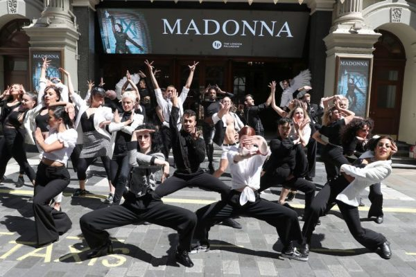 An immersive flash mob to celebrate Madonna's Madame X Tour in London